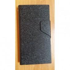 Черный чехол книжка для Nokia Lumia 730/735