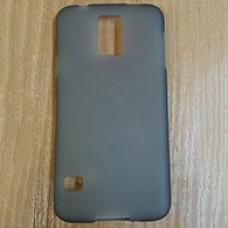 Черный силиконовый чехол для Samsung Galaxy S5