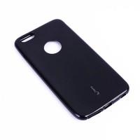 Черный силиконовый чехол для iPhone Xr