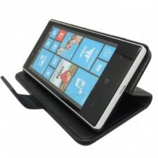 Кожаный чехол - книжка для Nokia Lumia 720
