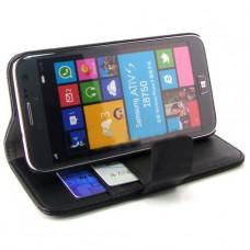 Кожаный чехол - книжка для Samsung Ativ S