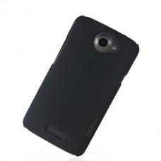 Черный пластиковый чехол для HTC One X/One X+