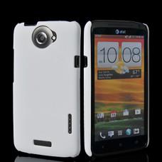 Белый пластиковый чехол для HTC One X/One X+