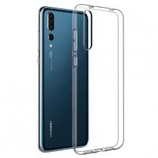 Прозрачный силиконовый чехол для Huawei P20