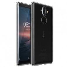 Прозрачный силиконовый чехол для Nokia 8 Sirocco