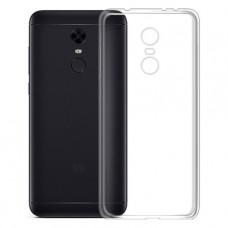 Прозрачный силиконовый чехол для Xiaomi Redmi 5 Plus