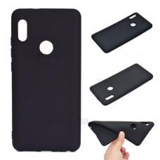 Черный силиконовый чехол для Xiaomi Redmi Note 5 / Note 5 Pro