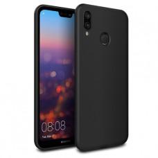 Черный силиконовый чехол для Huawei P20 lite