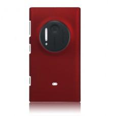 Бордовый пластиковый чехол для Nokia Lumia 1020