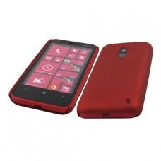 Бордовый пластиковый чехол для Nokia Lumia 620