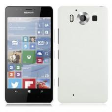 Белый пластиковый чехол для Nokia Microsoft Lumia 950