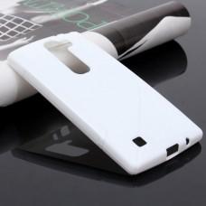 Белый силиконовый чехол для LG Magna