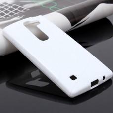Белый силиконовый чехол для LG Spirit