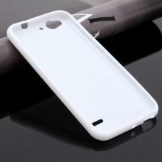 Белый силиконовый чехол для ZTE Blade S6