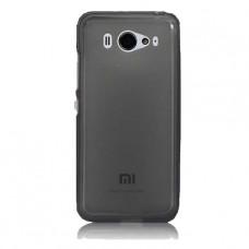 Черный силиконовый чехол для Xiaomi mi2s