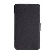 Черный чехол книжка Nillkin для Nokia Lumia 625