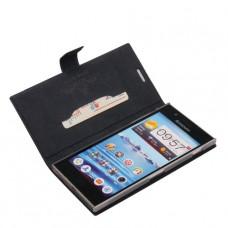 Черный чехол книжка DoorMoon для Lenovo k900
