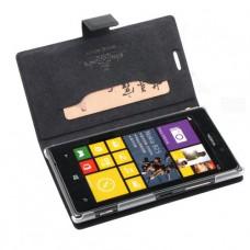Черный чехол книжка Doormoon для Nokia Lumia 925