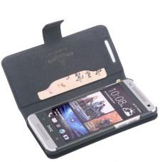 Черный чехол книжка Doormoon для HTC One Mini