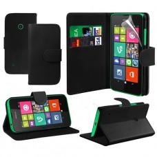 Черный чехол книжка для Nokia Lumia 530