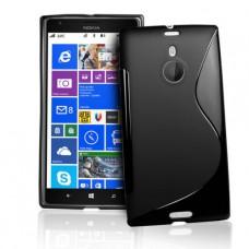 Черный силиконовый чехол для Nokia Lumia 1520