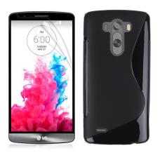 Черный силиконовый чехол для LG G3 s