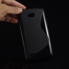 Черный силиконовый чехол для Lg L80
