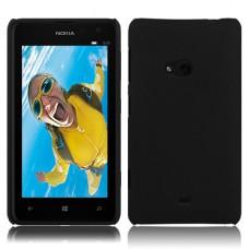 Черный пластиковый чехол для Nokia Lumia 625