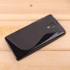 Черный силиконовый чехол для Xiaomi Red Rice 1s