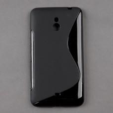 Черный силиконовый чехол для Nokia Lumia 1320