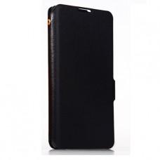 Чехол книжка из натуральной кожи для Huawei Ascend Mate 2 4G