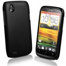 Черный пластиковый чехол для HTC Desire V