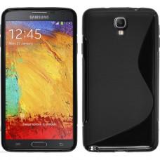 Черный силиконовый чехол для Samsung Galaxy Note 3 Neo