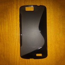 Черный силиконовый чехол для Huawei Ascend G7