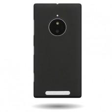 Черный пластиковый чехол для Nokia Lumia 830