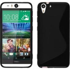 Черный силиконовый чехол для HTC Desire Eye