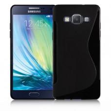 Черный силиконовый чехол для Samsung Galaxy A5