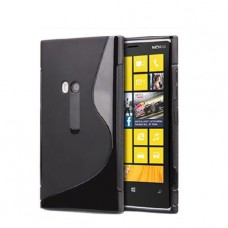 Черный силиконовый чехол для Nokia Lumia 920