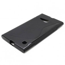 Черный силиконовый чехол для Nokia Lumia 730/735