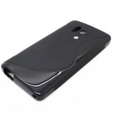 Черный силиконовый чехол для Huawei Honor 3