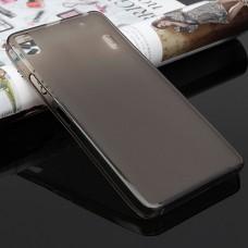 Черный силиконовый чехол для Lenovo A6000