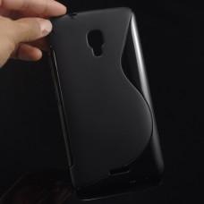 Черный силиконовый чехол для Huawei Ascend Mate 2 4G