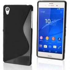 Черный силиконовый чехол для Sony Xperia Z3