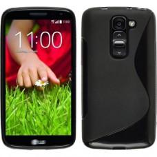 Черный силиконовый чехол для LG Optimus G2 mini