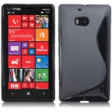 Черный силиконовый чехол для Nokia Lumia 930
