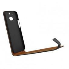 Черный чехол книжка (flip case) для HTC One M8/M8s