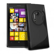 Черный силиконовый чехол для Nokia Lumia 1020