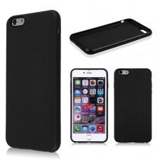 Черный силиконовый чехол для Iphone 6 Plus