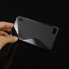 Черный силиконовый чехол для Huawei Honor 6