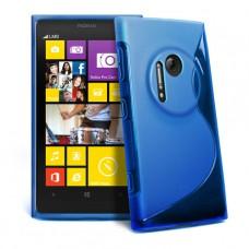 Синий силиконовый чехол для Nokia Lumia 1020